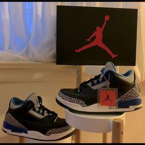 OG Air Jordan Retro 3 Sport Blue